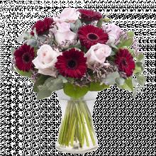 Platonic Love: Roses and Gerberas
