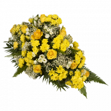 Arrangement de Roses Jaunes