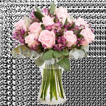 Wilde Freude: Rosen und Inkalilien