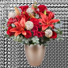 Magie: Lilien und Rosen
