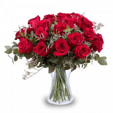 La Vie en Rose: 24 Red Roses