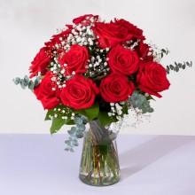 Klasyczna Miłość: 12 Czerwonych Róż