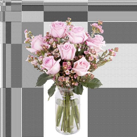 Amor Rosa: rosas y paniculata