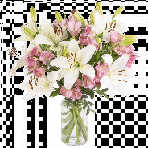 Hello Sunshine: Lilies and Alstroemeria